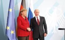 Merkel gratuliert Putin