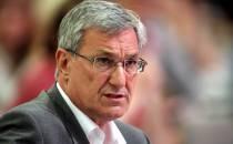 Linke-Chef Riexinger fordert Rücktritt von DfB-Präsident Grindel