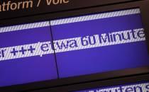 Bahn-Pünktlichkeitswerte haben sich 2018 verschlechtert
